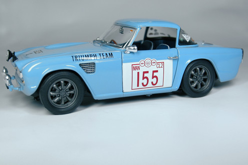 Triumph Tr4 Rally Blue