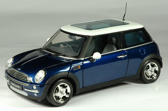 Mini Cooper - Laser Blue 1:18
