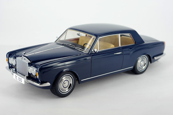 Rolls Royce Silver Shadow 2dr Coupe - Oxford Blue