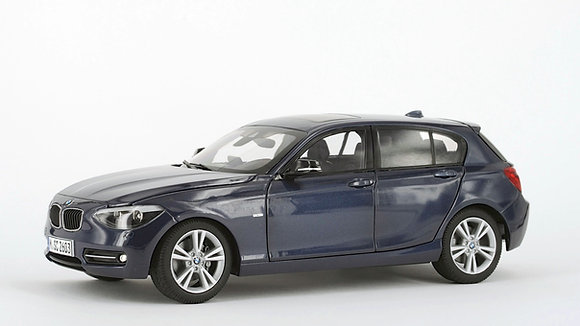 BMW 125i - 1:18 MIDNIGHT BLUE