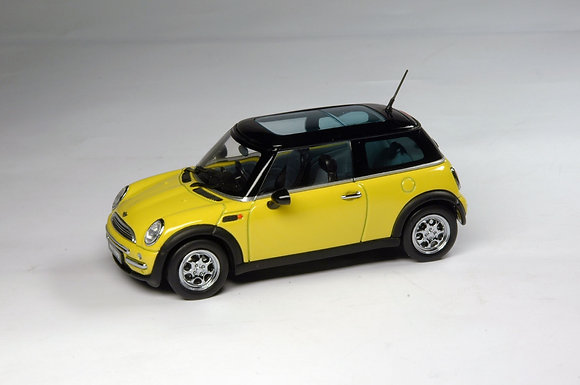 Mini Cooper 1:43 - Yellow