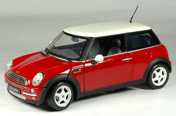 Mini Cooper - Solar Red 1:18