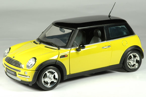 Mini Cooper - Dakar Yellow 1:18