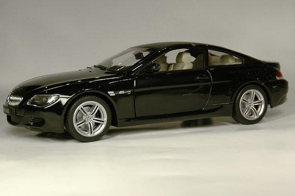 BMW M6 - sapphire black