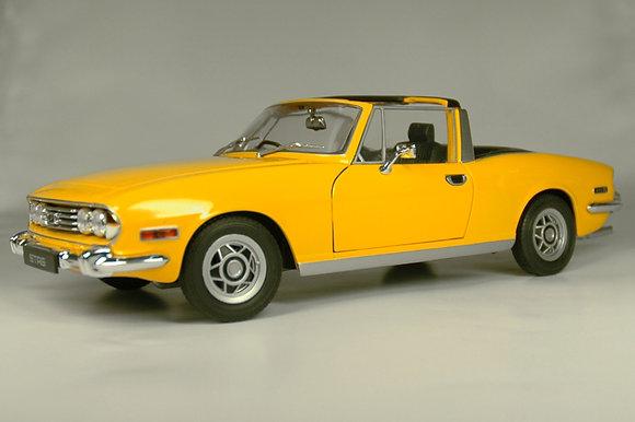 Triumph Stag - Saffron Yellow