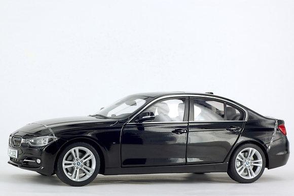 BMW 3 Series 1:18 Scale Sapphire Black