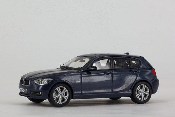 BMW 1 Series - 1:43 Midnight Blue