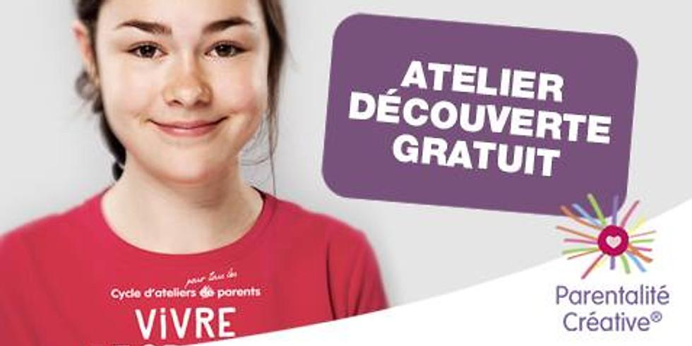 """Cycle """"Vivre et grandir ensemble""""® - Atelier découverte"""