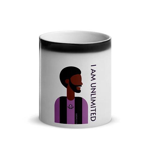 I Am Unlimited (Male) Glossy Magic Mug