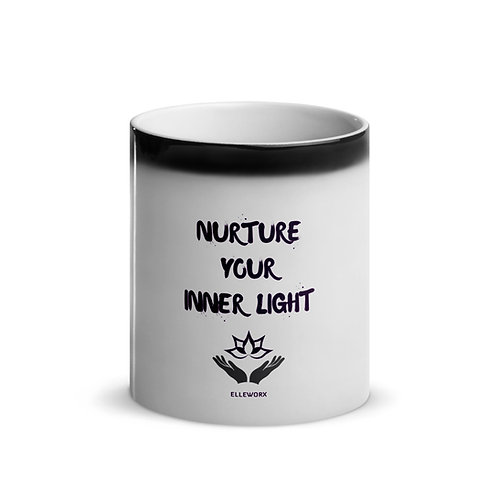 Nurture Your Inner Light Glossy Magic Mug