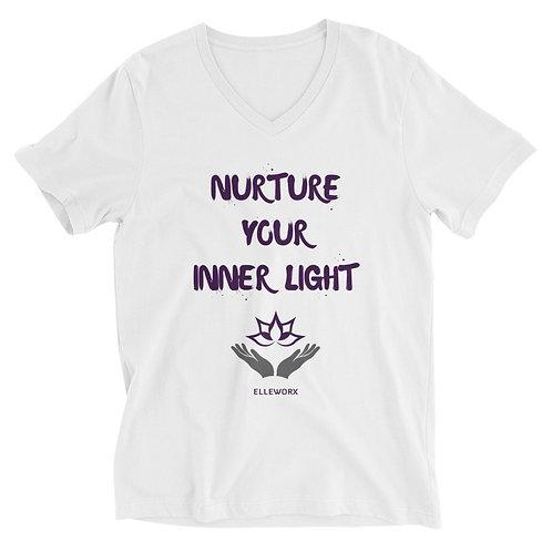 Nurture Your Inner Light V-Neck T-Shirt