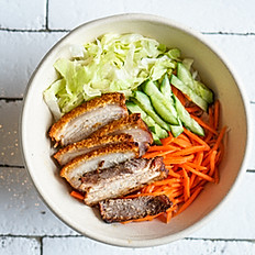 Vermicelli Noodles - Crispy pork belly