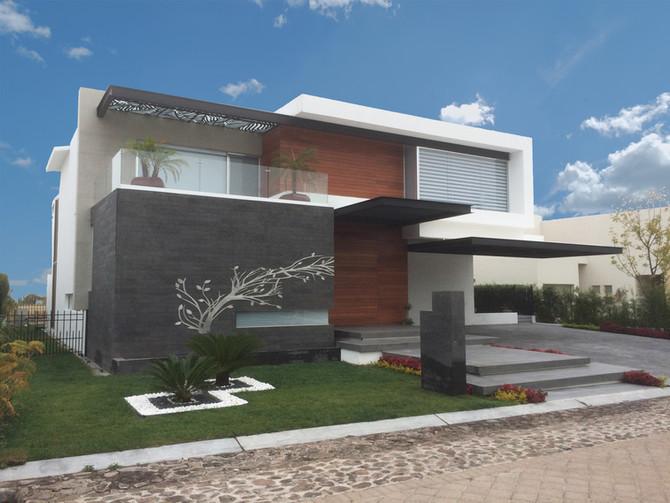 """Publicación de Homify: """"Moderna e impactante ¡Esta casa te fascinará!"""""""