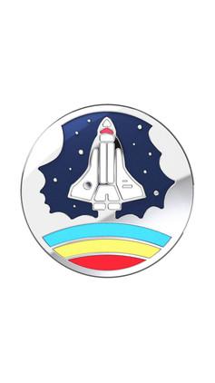 Space Shuttle Enamel