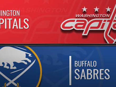 Sabres vs, Capitals recap