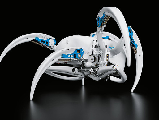 The BionicWheelBot by FESTO