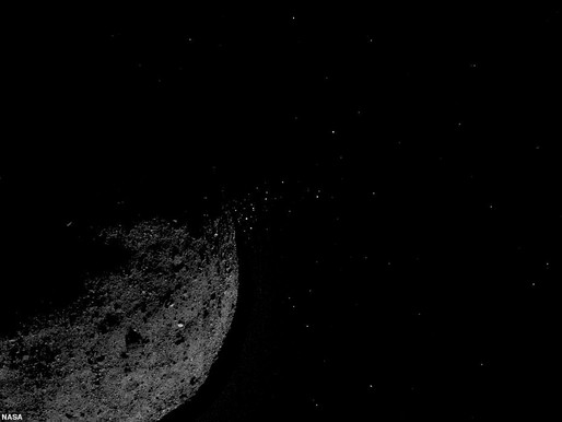 NASA Spacecraft Spots Plumes Erupting From an Asteroid's Surface.