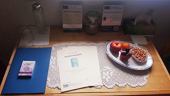 Zertifikatsübergabe Humanenergetik