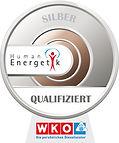 Silber Abzeichen für Humanenergetik von der WKO