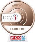 Bronze Abzeichen von der WKO für Humanenrgetik
