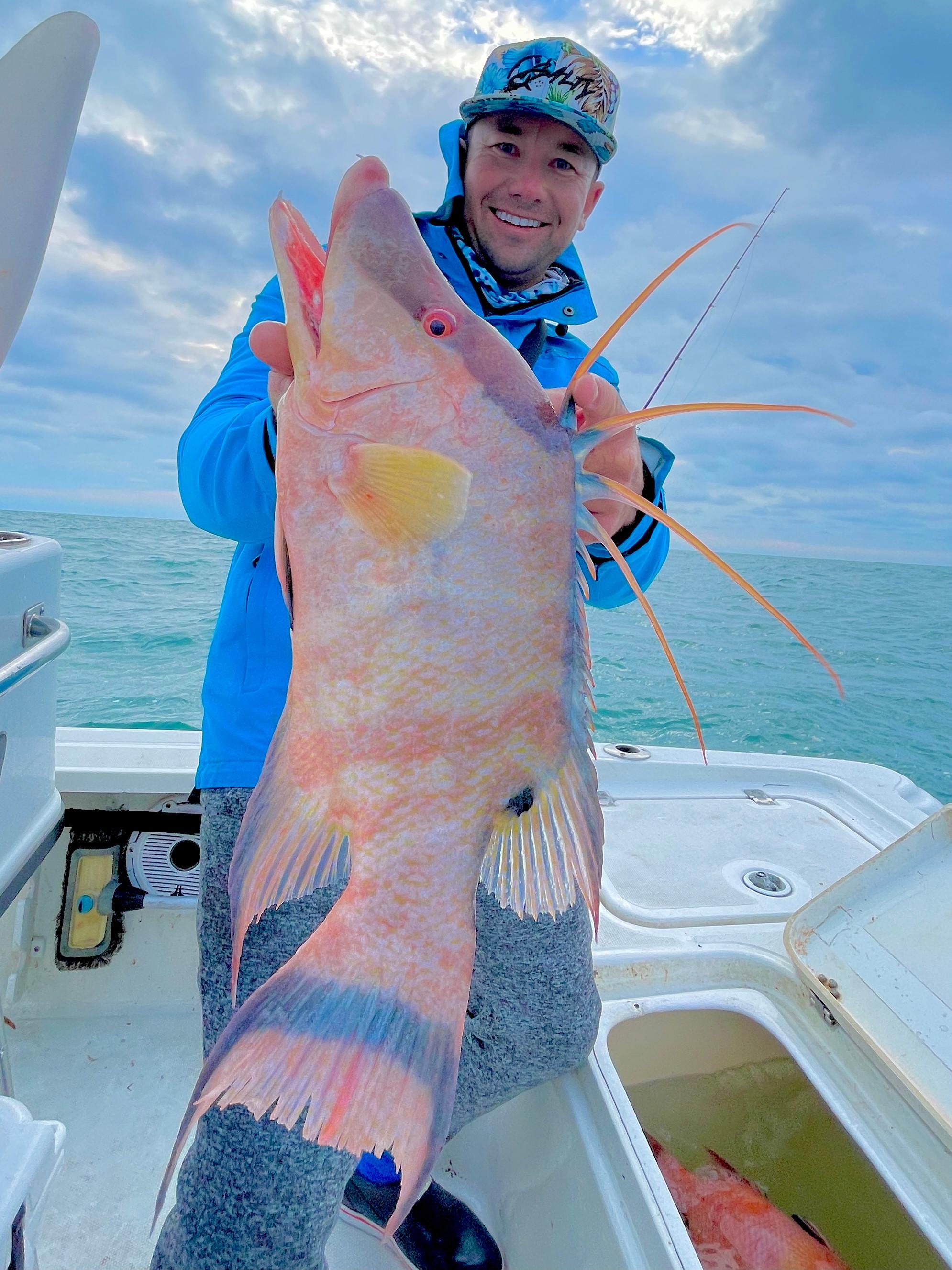 Gulf Reef Fishing Trip 4 Hours