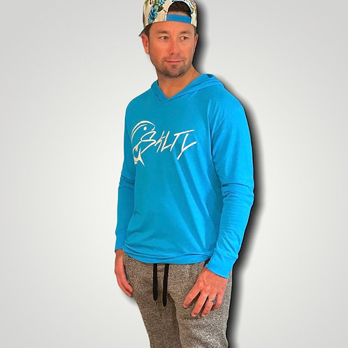 Fishing with Salty Hooded Long Sleeve