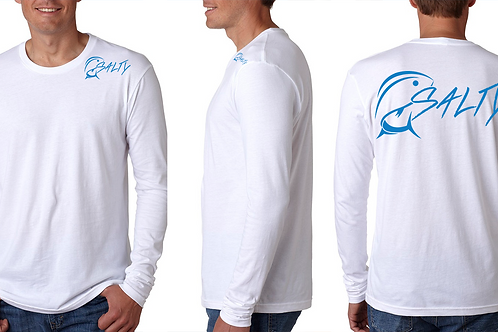 White Fishing with Salty Long Sleeve Shirt