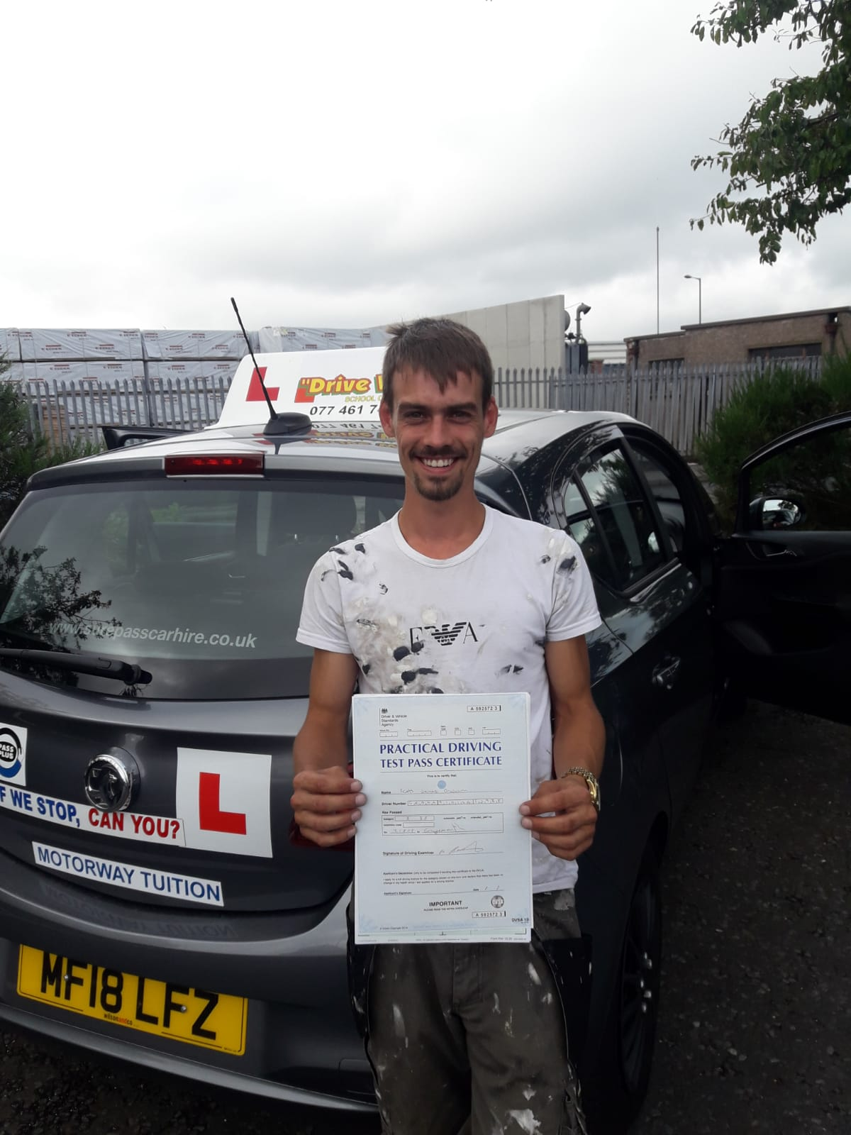 Scot Graham. Passed Using OWD.