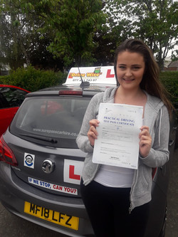 Molly Gemmell.  Passed using OWD.