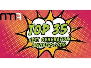 Voted in Top 35 Next Generation Advisers for 2018