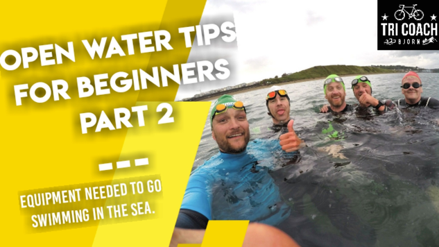 Equipment for open water swimming