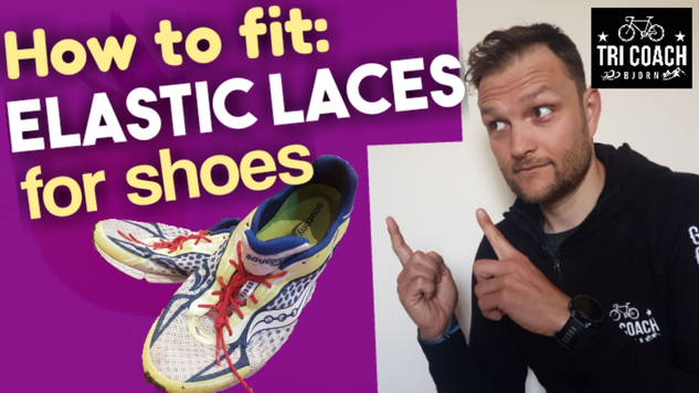 How to fit elastic laces