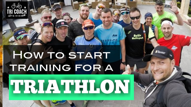 How to start training for tri