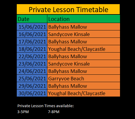 Private Lesson Timetable Screenshot.png