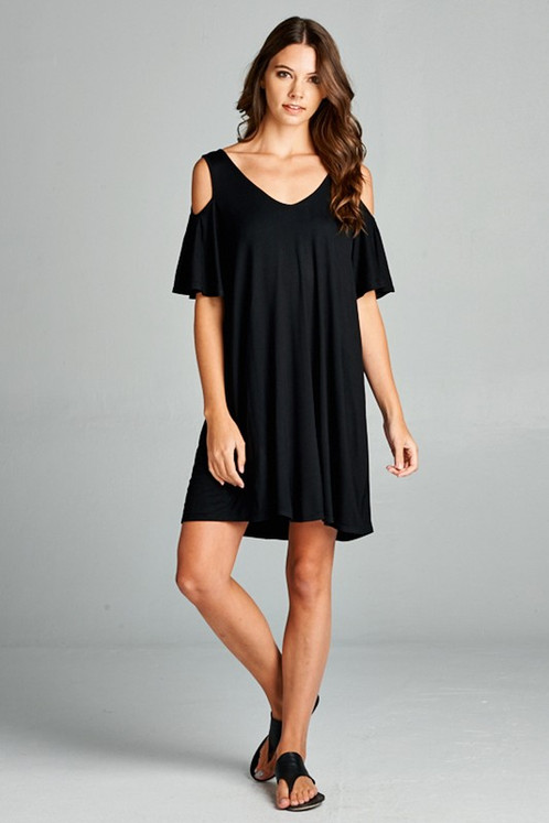 Flirty black dresses