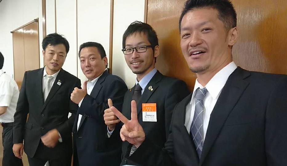 最優秀賞の内田幸久さん (小山町商工会)