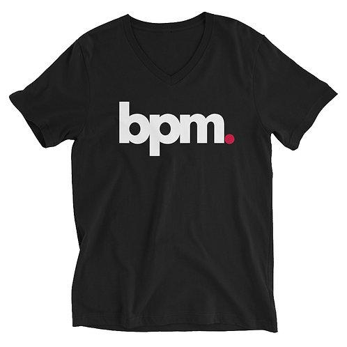Original BPM Unisex Short Sleeve V-Neck T-Shirt