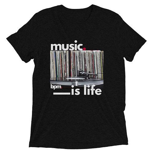 BPM Music is Life Short sleeve t-shirt