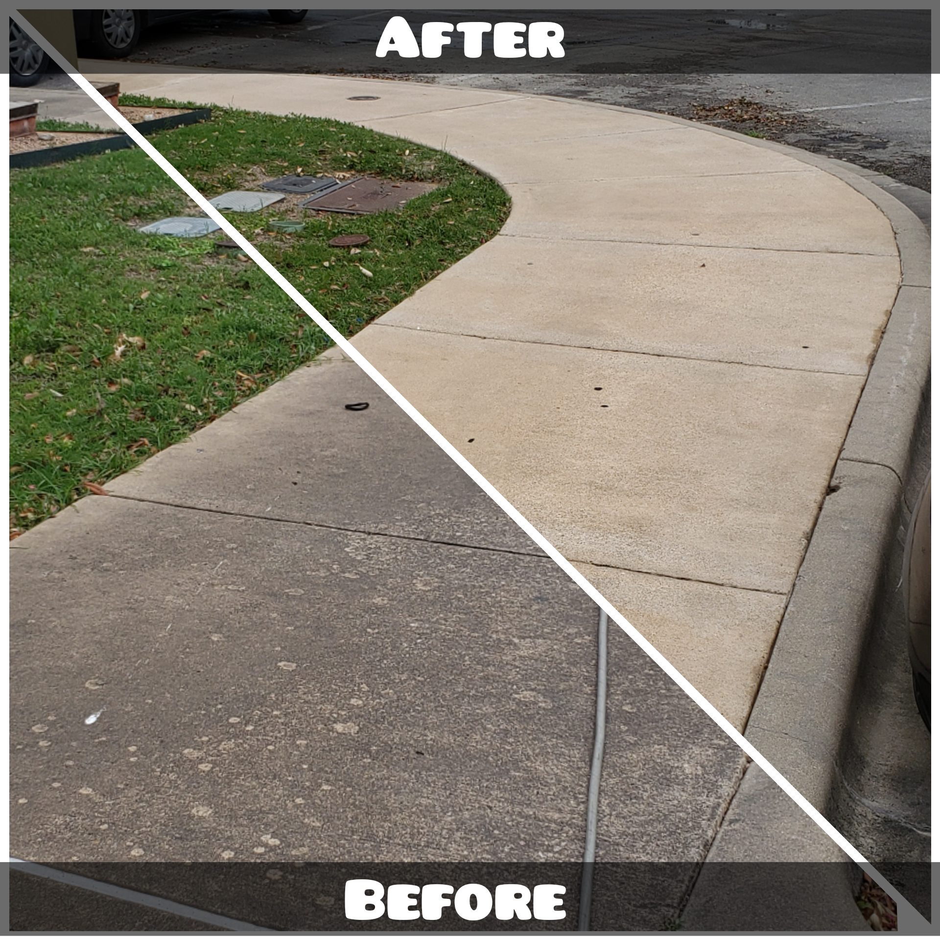 Commercial Concrete Before & After