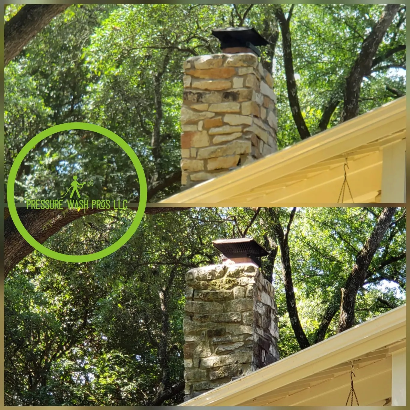 Chimney Mold & Mildew Clean up