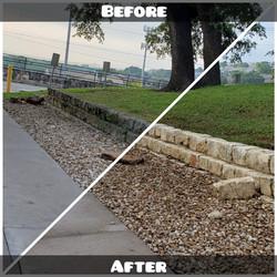 Limestone  Removal Mold & Mildew