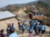 Children going to school in Thakani - 20