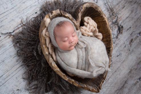 Newborn Rustic Photo