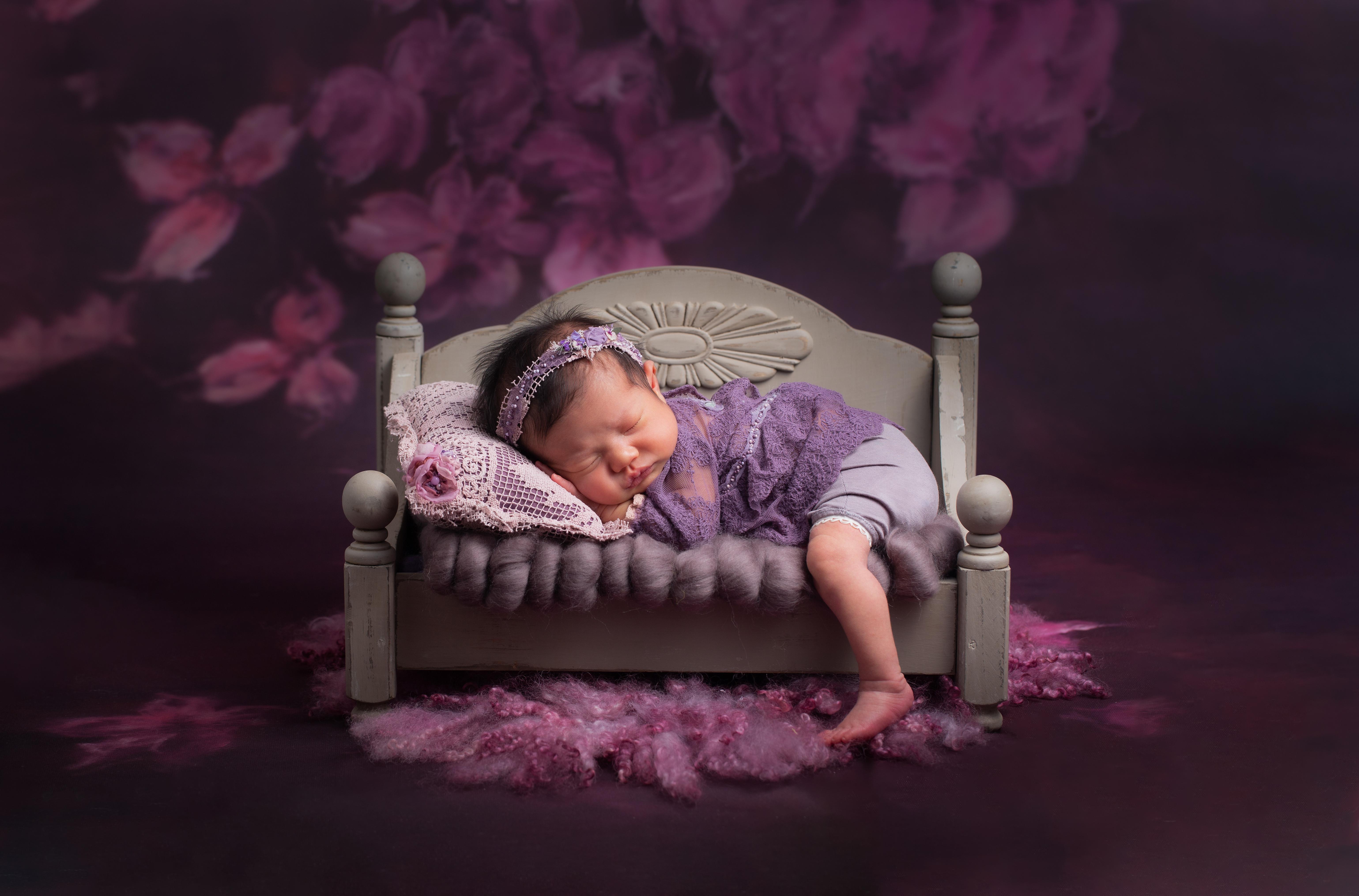 Silver Newborn Session