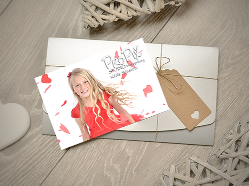 Kids Photography Session Gift Voucher