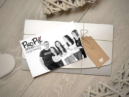 Large Family Photography Session Gift Voucher