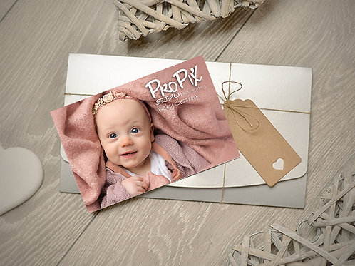 Baby Photography Session Gift Voucher