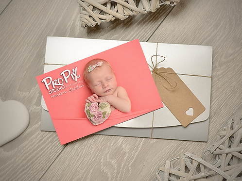 Newborn Photography Session Gift Voucher