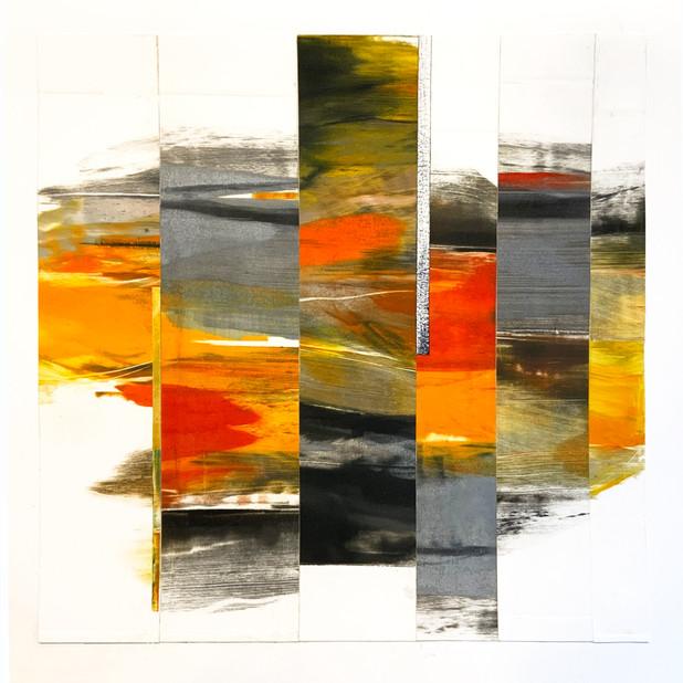 "Coronoa Collage 15, 10""x10"""
