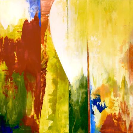 """The Path Forward, acrylic on panel 24"""" x 24"""""""